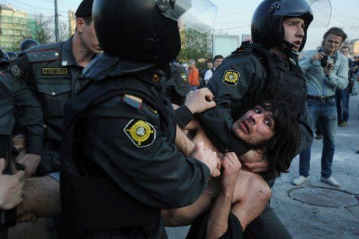 Russian Protesters Have Been Attacked by the Dictatorship