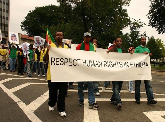 Protest For Ethiopian Democracy