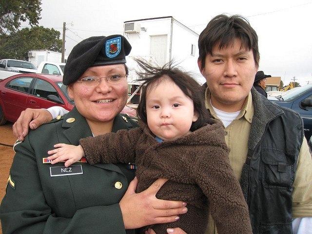 Native American Voter Veteran Iraq War