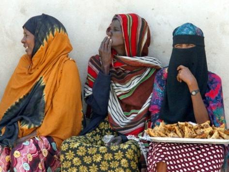 Somalia women in traditional dress on chairs Swallowed By Jihadists