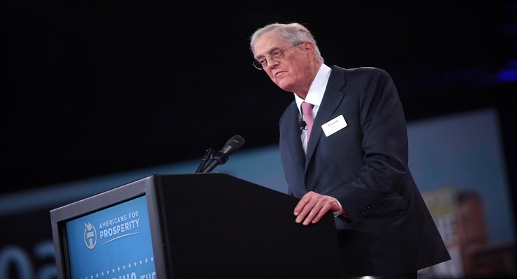 David H. Koch, industrialist and libertarian dies at 79