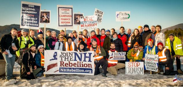 Election Reform Movement Walks New Hampshire