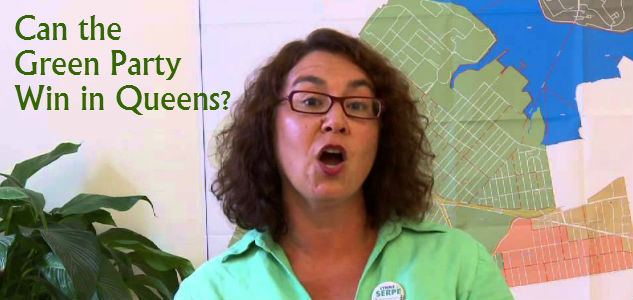Lynne Serpe green party queens