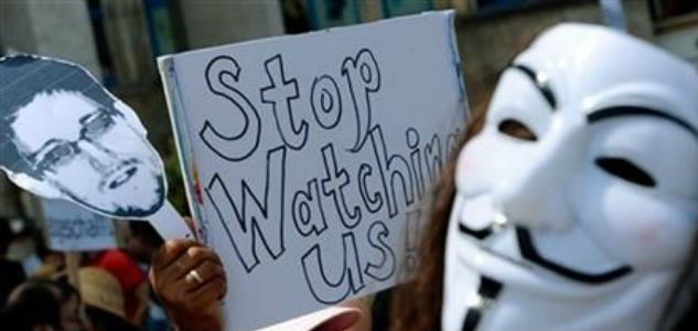 end of bulk spying? Recordings of Your Phone Conversations Surveillance NSA Spying Protest