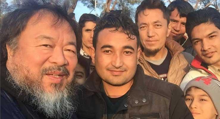 Ai Weiwei Visits Greece