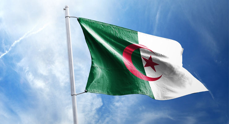 Algerians Take To The Streets In Large Numbers