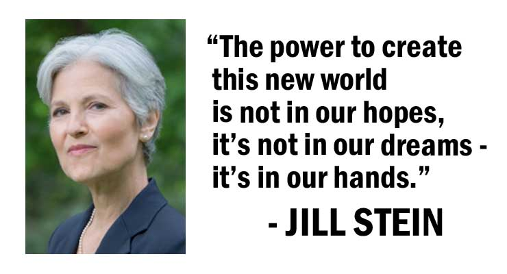 Jill Stein Talks Third Party Campaigning